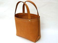 バケツ型トート(C-21)の手作り革鞄・ハンドメイドレザー「HERZ(ヘルツ)公式通販」