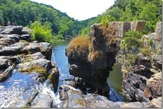 High Falls Park in North Alabama  - gorgeous to visit!!