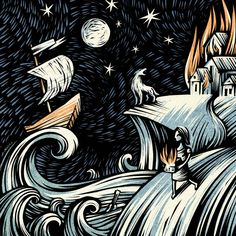 Amanda Palmer & Jason Webley - Sketches For the Musical JIB Viking Hall, Amanda Palmer, My Spirit Animal, Cover Art, Album Covers, Vikings, Musicals, Art Gallery