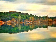 Pintando | Painting  Laguna del Rey Ruidera  #lagunasderuidera #mobilephotography