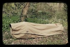 The new Wynnchester canvas bedroll - this looks amazing! I love that it can be setup as a hammock too. Will have to look for reviews on this