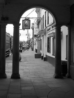 The High Street from the Guildhall. High Wycombe, English Movies, Listed Building, Amazing Spaces, Live In The Now, The Good Place, Britain, Scotland, Scenery