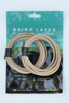Rhino Laces - Unbreakable Shoelace- Coyote Tan - 2XLarge (1 Pair, 10-14 eyelets) Rhino Laces http://www.amazon.com/dp/B00L2KQVVY/ref=cm_sw_r_pi_dp_VHUYvb0ZXQSKH