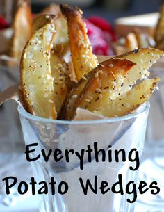 A Sprinkle of This and That: Everything Potato Wedges