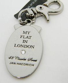 My Flat in London by Brighton BE STYLISH Silver Handbag Charm NWT E14480 #Brighton