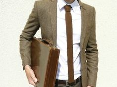 skinny tie!