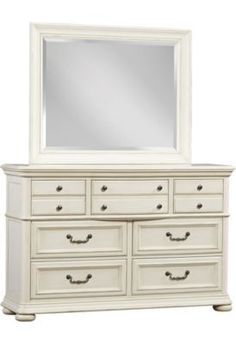 Bedrooms, Welcome Home Dresser/Mirror   Weathered White, Bedrooms | Havertys  Furniture