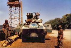 SADF Vehicles | SABOV Gallery Rattel equipped with missile launcher Military Photos, Military History, Once Were Warriors, South African Air Force, South Afrika, Army Day, Defence Force, Armored Fighting Vehicle, Tactical Survival