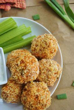 Buffalo Chicken Meatballs..