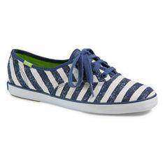 Keds Champion Washed Stripe Oxford Shoes - Women