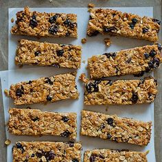 This recipe for Homemade Granola Bars is packed with so much great stuff like flax seeds, chia seeds, and wheat germ.