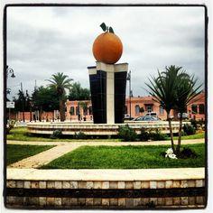 Berkane, Morocco, birthplace of Hicham El Guerrouj