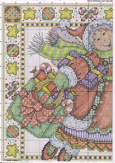 (1) Gallery.ru / Фото #26 - The world of cross stitching 104 рождество 2005 - tymannost