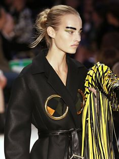 A look back at the greatest makeup moments from the Céline runway.