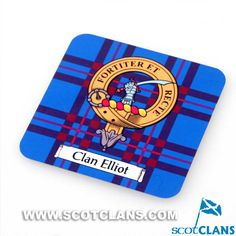 Elliot Clan Crest Fridge Magnet