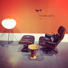 Eames Lounge Chair Eames Stuhl Noguchi Akari Showroom Friedrichstraße 200 Berlin