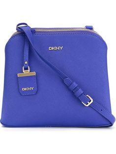 DKNY Bolsa de couro modelo 'Saffiano City Zip'