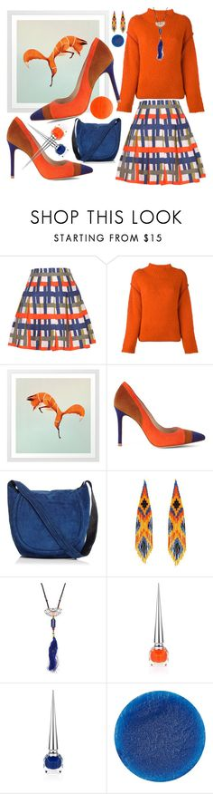 """Jump in pump ;-)"" by amisha73 ❤ liked on Polyvore featuring Sportmax, Karen Millen, Halston Heritage, Forest of Chintz, Christian Louboutin, Lipstick Queen and Illamasqua"