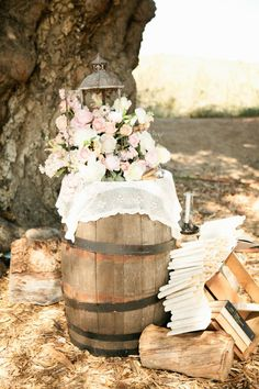 rustic romantic pink reception wedding flowers,  wedding decor, wedding flower centerpiece, wedding flower arrangement, add pic source on comment and we will update it. www.myfloweraffair.com