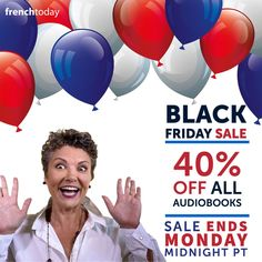 Our biggest sale of the year has started!! Save 40% on all my audiobooks until monday 30th @ midnight. See all the savings here >>