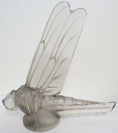 'Grand Libellule' the large dragonfly with its wings upwards.