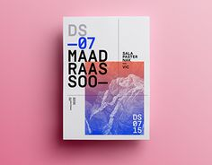 Posters 2015- Quim Marin Such lovely posters! Stunning work of graphic design!