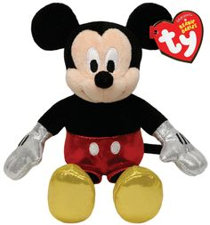 Look what I found on Mickey Mouse Sparkle Plush Toy by Mickey Mouse & Minnie Mouse Mickey Mouse Party Favors, Mickey Mouse Clubhouse Party, Mickey Party, Mickey Mouse Birthday, Mickey Mouse Doll, Baby Mickey, Disney Mickey Mouse, Beanie Buddies, Ty Beanie