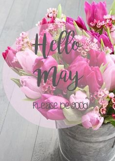 Hello May by eyecandy_accessoriez Seasons Months, Months In A Year, Spring Months, Spring Time, Birthday Month Flowers, Welcome May, Little Island, Le Jolie, Spring Has Sprung