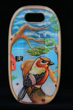 Jolly Bird by 91Alps on Etsy