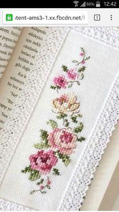 New Embroidery Funny Needlework 47 Ideas Cross Stitch Bookmarks, Cross Stitch Love, Cross Stitch Needles, Cross Stitch Borders, Cross Stitch Flowers, Cross Stitch Charts, Cross Stitch Designs, Cross Stitching, Cross Stitch Embroidery