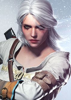 The Witcher 3 Wild Hunt: CD Projekt Red   http://thewitcher3ps4.com/the-witcher-3-gallery/confirms Ciri as...