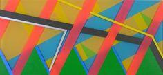 Jonathan Leach: paint on plexi