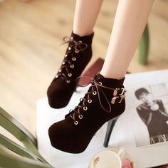 Korea fashion women heels