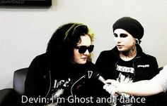 Motionless in white ghost and balz