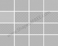 Free Grid Pixel Patterns