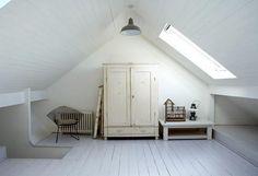 More finished attics...