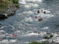 Rogue River rafting near Grants Pass, OR