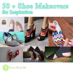 50  Shoe Makeovers for Inspiration