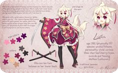 Lilka Reference by Riniuu on deviantART - http://riniuu.deviantart.com/art/Lilka-Reference-359405371