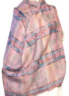Wool Shawl Scarf Womens Wrap from India (Multicoloured, 80 x 28 inches) Maple Clothing. $39.00. wool. All purpose women clothing accessory, great gift item for all occassions.. Created by handloom weavers of Kashmir, North India. 100% Soft Wool. Dry Clean Only. Size: 80 inches x 28 inches. Save 43% Off!