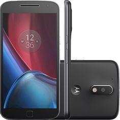 (Shoptime) Smartphone Moto G 4 Plus Dual Chip Desbloqueado Android 6.0 Tela 5.5 ´ ´ 32GB Câmera 16MP - Preto - de R$ 1499 por R$ 1349.1…