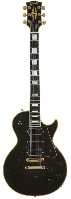 Buck Dharma's 1959 Gibson Les Paul Custom Black So - by Heritage Auctions