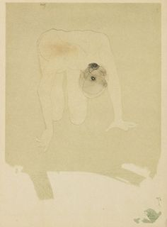 sombhatt:    Drawing by Auguste Rodin