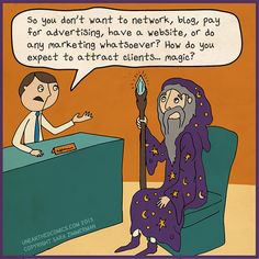"HA! In this business, you may find more of these ""wizards"" than you think! #sundayfunnies"