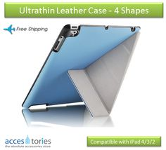 iPad case? or something more innovative?  http://www.accestories.com/store/apple-accessories/apple-ipad-4/ipad-432-ultrathin-leather-case-4-shapes-detail