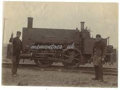 Railway Workers Redruth Chasewater 1862 Cornwall Steam Train Neilson no 699 Glasgow Scotland, Cornwall, Train, Ebay