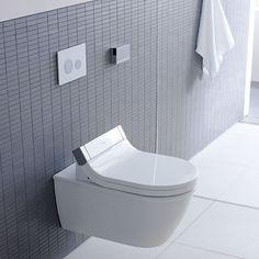 Darling New Wall Hung Toilet Sensowash Starck E Shower Seat