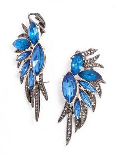 Phoenix Wing Ear Cuffs.... reasons to get piercings!