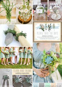 Botanical theme and styling ideas