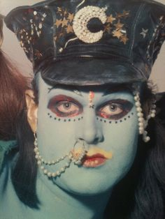 Leigh Bowery, Psychedelic Fashion, Corporate Goth, Make You Up, Street Goth, Club Kids, Retro, Fashion Art, Creepy